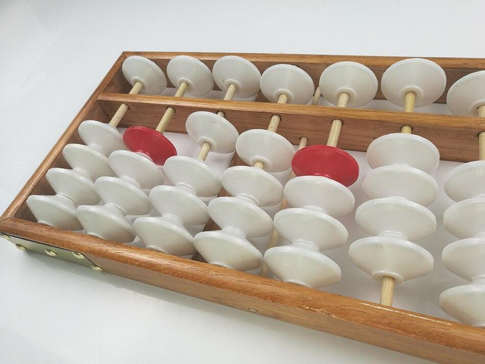 Abaco Cinese Abacus Soroban Matematica Istruzione Insegnare Calcolatrice Appeso Abacus Soroban Insegnamento Abaco 58x19 cm Per L'insegnante-in Giocattoli per contare da Giocattoli e hobby su  Gruppo 3