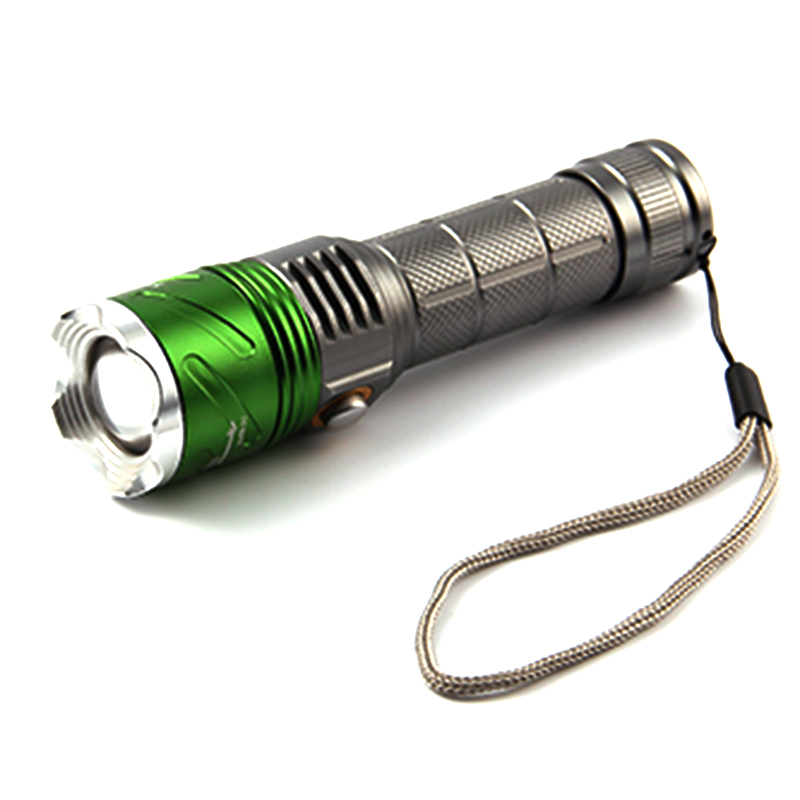 Powerful Lantern CREE XM-L2 U2 2000LM Led Flashlight Torch Lamp With 395nm Ultraviolet Violet Light by 18650 or 3 X AAA Linterna