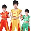 Новое Прибытие Китайской Древней Костюм Дети Рукавов Кунг-Фу Костюм Мужской Этап Производительность Ушу Костюм Китайский Традиционный 18