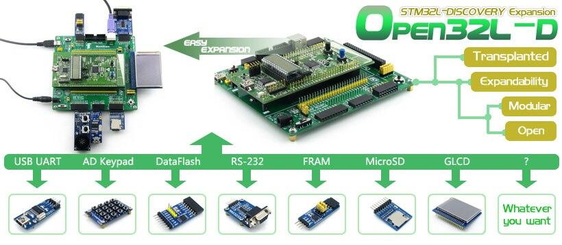 STM32L152RBT6 development board