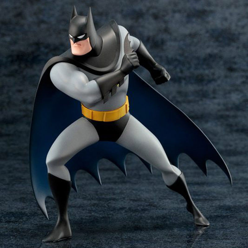 Free Shipping 7 DC Duper Hero Batman The New 52 Comic Ver. Boxed 18cm PVC Action Figure Collection Model Doll Toy Gift dc comics super heroes superman pvc action figure collectible model toy gift for children 7 18cm free shipping