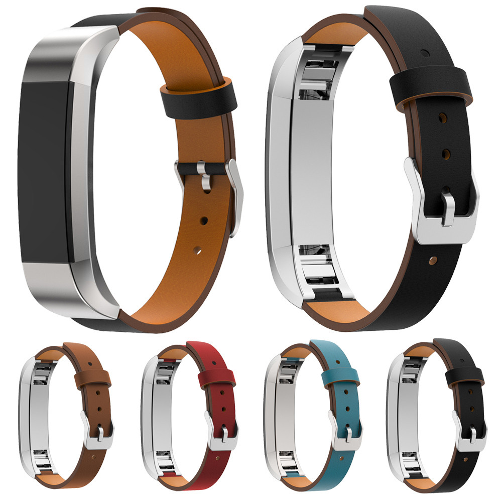 Susenstone 4 Colore Cinturino di Cuoio Cinturino Cinturino In Pelle Braccialetto Correa Relojfor Fitbit Alta Tracker