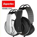 Бренд Superlux HD681 Серии Профессиональный Мониторинг DJ Наушники шумоизоляции игры наушники Наушники Студии