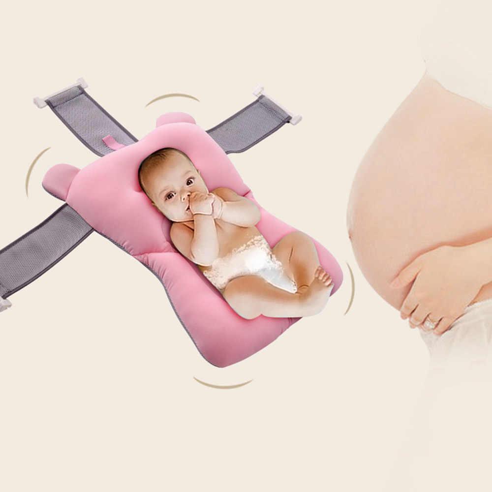 折りたたみ新生児バスタブベビーフロートバスマットシートアンチスキッド水着ベッドパッドベビーケアバス製品子供のための