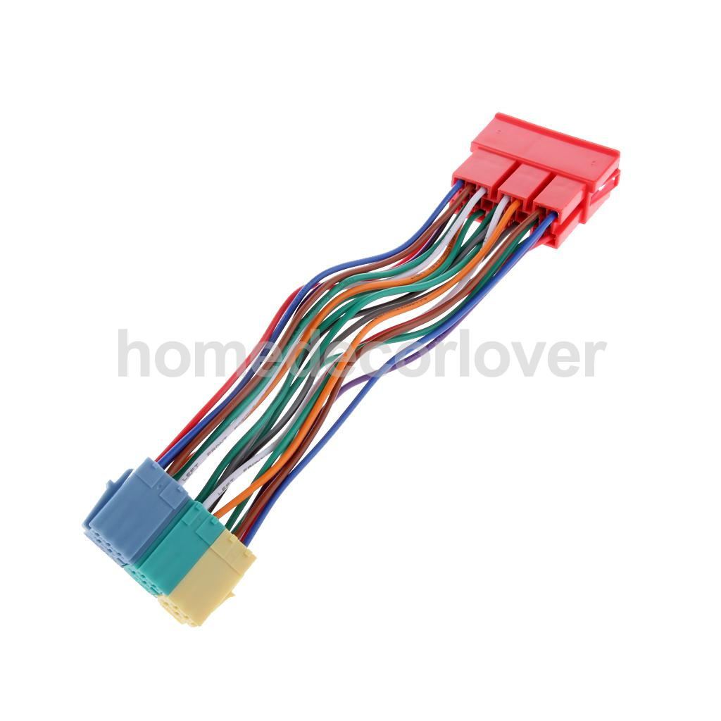 mini wiring harness promotion shop for promotional mini wiring 20 pin radio wiring harness mini iso block adapter cd connector for audi a6