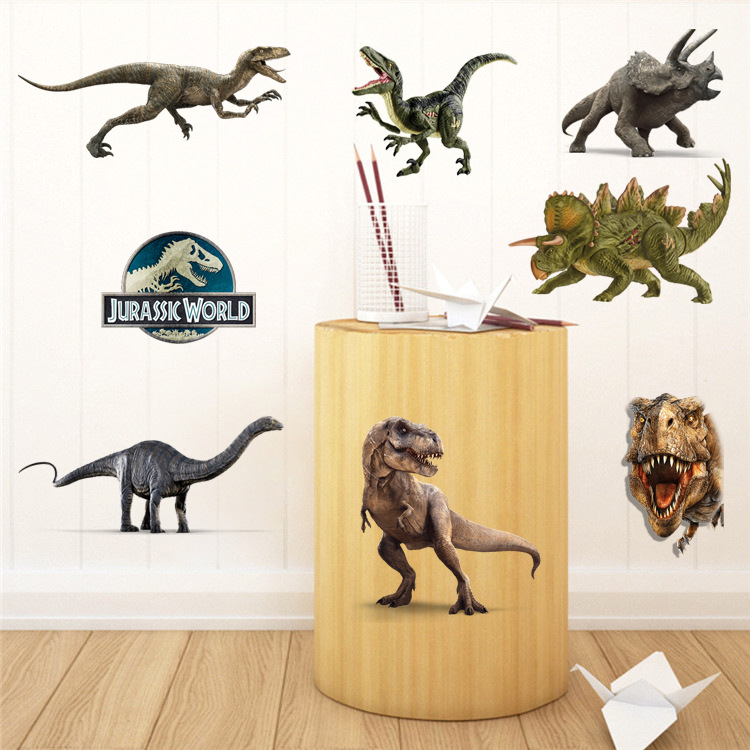 Beautiful Dinosaur Vinyl Wall Art Ornament - Wall Art Design ...