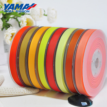 YAMA Yellow Gold Grosgrain Ribbon 6 9 13 16 19 22 mm 100 yards/lot Solid Packing Wedding Gift Wrapping Party Decorations Ribbons