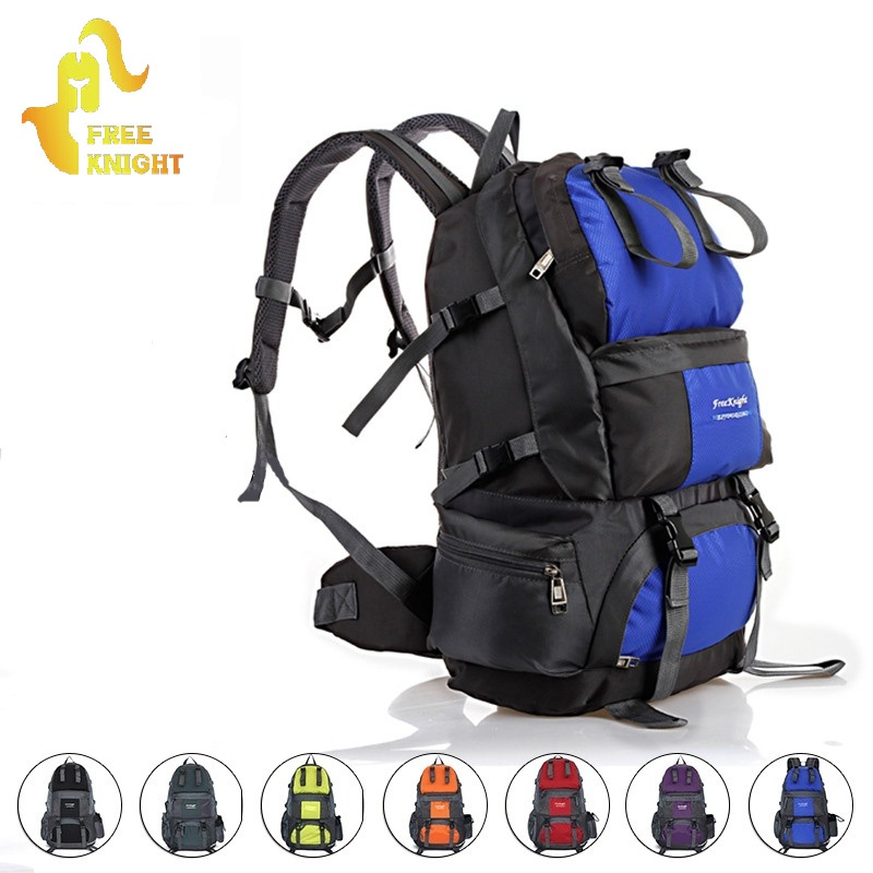 d6f711dc2e Free Knight 50L Waterproof Nylon Unisex Outdoor Climbing Bags  Mountaineering Backpack