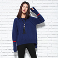 Women Sweater Thick Cashmere Knitted Pullovers 2016 New Fashion Flare Sleeve Tops Winter Warm Woolen Clothes Female Skirts