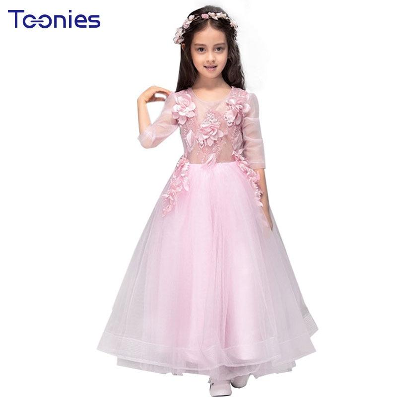 Hermosa Vestidos De Niña Fabulosa Prom Patrón - Ideas de Estilos de ...