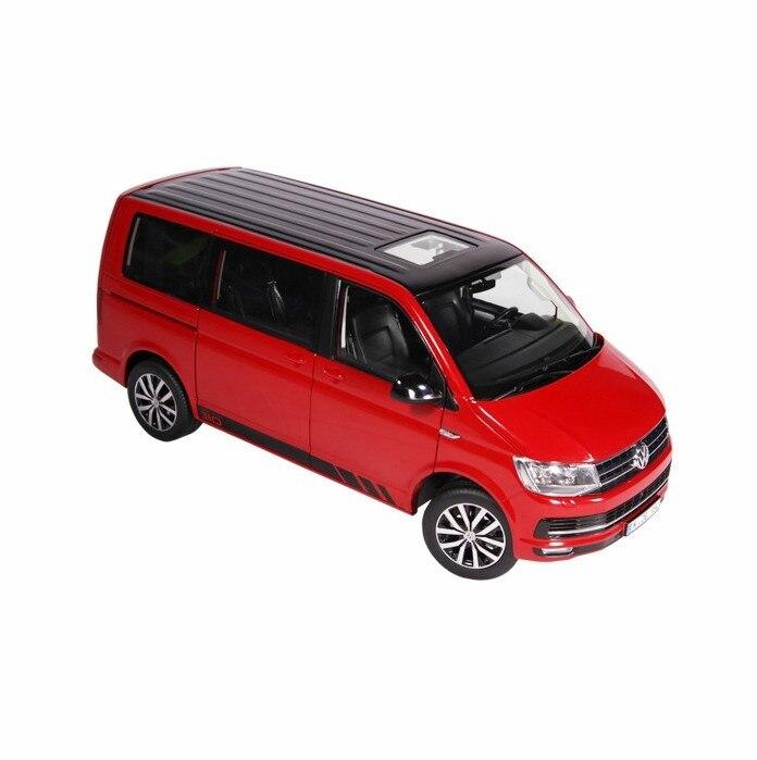 Классический литая Игрушечная модель NZG 1:18 весы VOLKSWAGEN T6 Бизнес Путешествия автомобилей модель для мужчин, подарок, украшение, коллекция