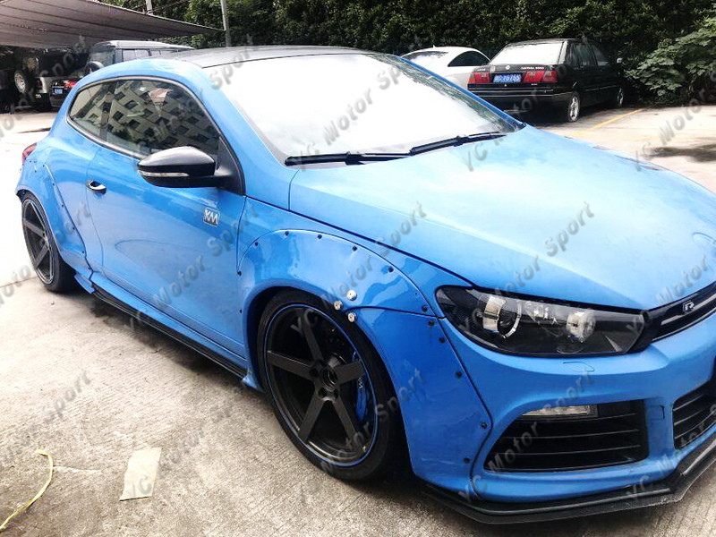 2011-2013 VW Scirocco R Karztrec Style Wide Body Kit PCF (110)