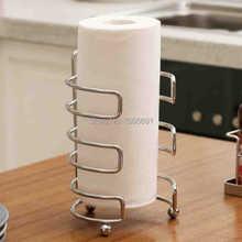 MAIDEER кухня из нержавеющей стали бумаги держатель Европейский держатель рулона бумаги консервант фильм держатель