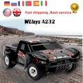 Rc Автомобилей WLTOYS A232 Электрический Rc Автомобилей 4WD 35 КМ/Ч Приводной вал высокая Скорость Управления По Радио Off-Road Monster truck RTR Багги RC Автомобилей