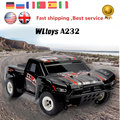 Rc Coche WLTOYS A232 Del Coche Eléctrico de Rc 4WD 35 KM/H Drive Shaft Control de Radio de alta Velocidad Monster truck Off-Road Buggy RTR RC Vehículos