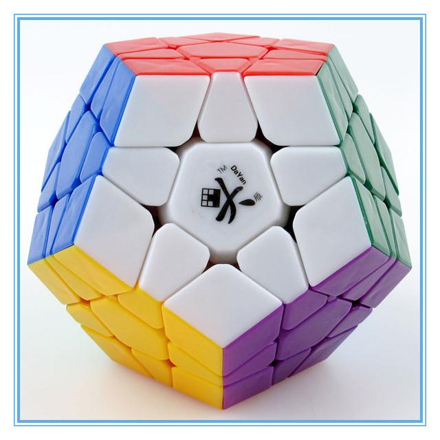 DaYan Megaminx Dodecahedron Cubo Mágico Velocidad personalizado Game cube cubo mágico Rompecabezas de juguete de aprendizaje y educación juguetes