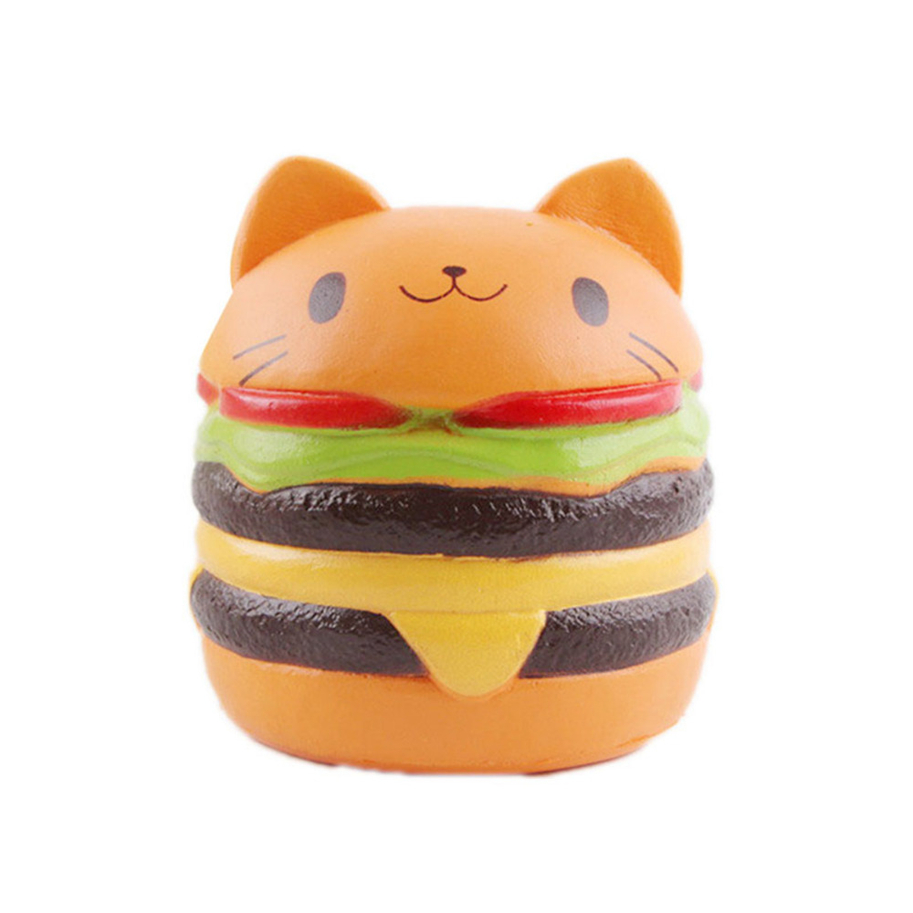 Gags Practical Jokes Novelty Gag Toys Squeeze Toys shocker doll lol girls cool anti stress antistress funny Hamburger Viscous