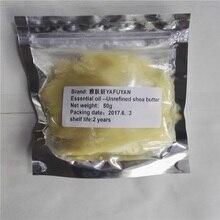 YAFUYAN 50g Vaj natyral të papërpunuar me gjalpë natyral të papërpunuar Shea të shkallës së freskët ushqyes për lëkurën e rrudhave