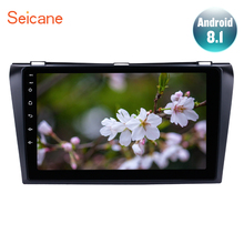 Seicane HD 1024*600 Android 8,1 Автомобильный gps; Мультимедийный проигрыватель для 2004 2005 2006 2007 2008 2009 Mazda 3 2Din gps Wi-Fi 3g FM SWC