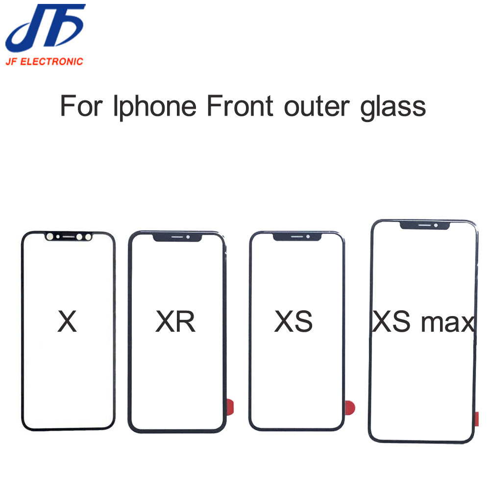 X front outer glass