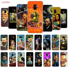 Lavaza Van Gogh Mona Lisa Funny Art Hard Phone Case for Samsung Galaxy A50 A70 A6 A8 A9 2018 S8 S9 S10 Plus Cover