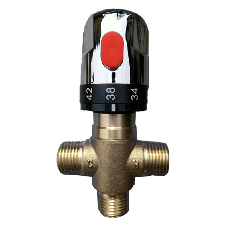 Aliexpress Com Buy Brand New Brass Control Mixing Valve: MLFALLS Shower Faucets Brass Thermostatic Mixing Valve