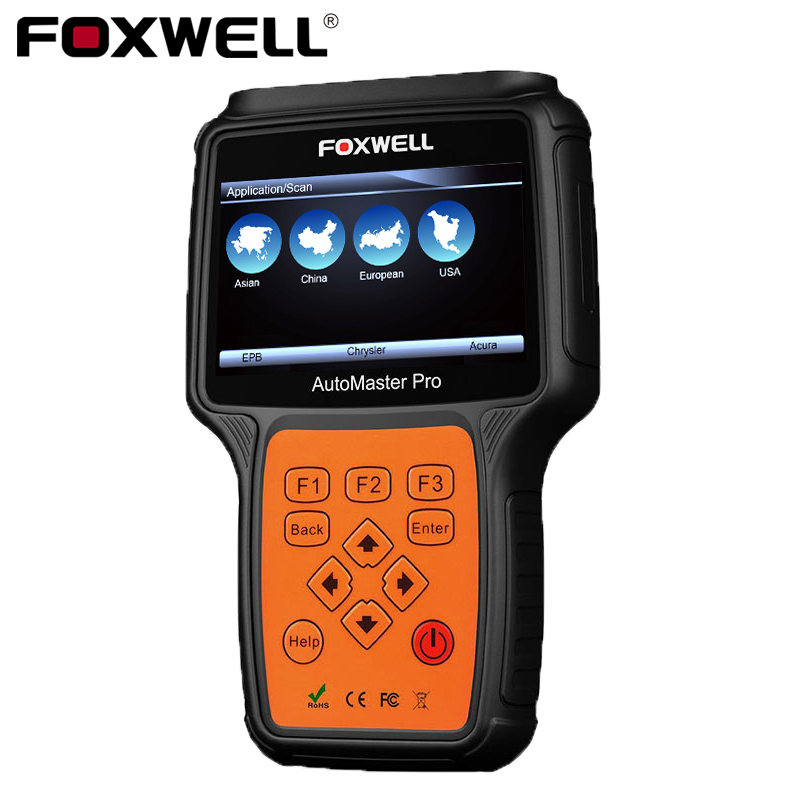 Foxwell NT624 Pro All System OBD2 Auto Diagnostic Tool ABS SRS Airbag SAS EPB Oil Service