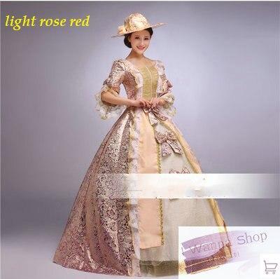 Pink Red Purple Light Rose Red Womens Royal Formal Dance Dress