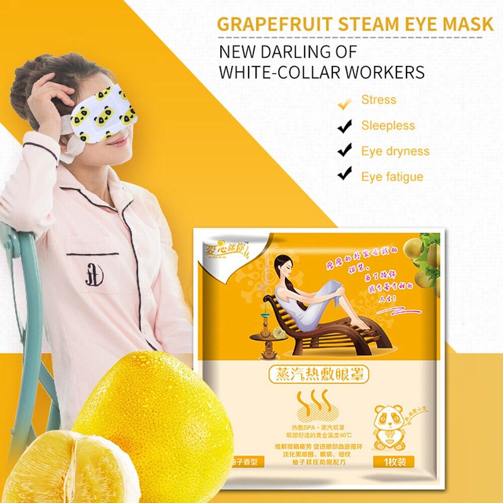 1 sac pamplemousse soin des yeux masque à la vapeur Patch chaud 12.5 - Soins de santé - Photo 6