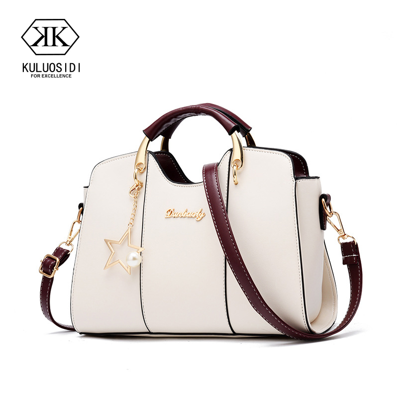 купить Luxury Handbags 2018 Elegant Bag Women Designer Women Bags Star Sweet Messenger Shoulder Bag for Women по цене 1357.23 рублей