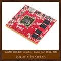Original genuine 512 mb placa gráfica para dell amd hd5470 exibição placa de vídeo gpu substituição testado trabalho