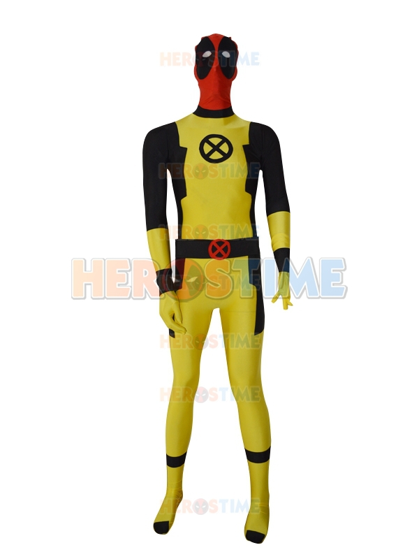 Deadpool Costumes Fullbody Spandex Adult Halloween Cosplay Deadpool Superhero Costume Show Zentai Suit Hot Sale Free Shipping
