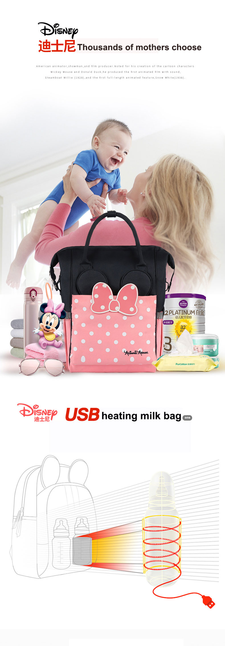 Baby Bottle Bag