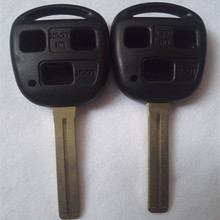 Speial Offer High Quality For Lexus Remote Key Shell 3 Button TOY48 (Long) 46MM with LOGO
