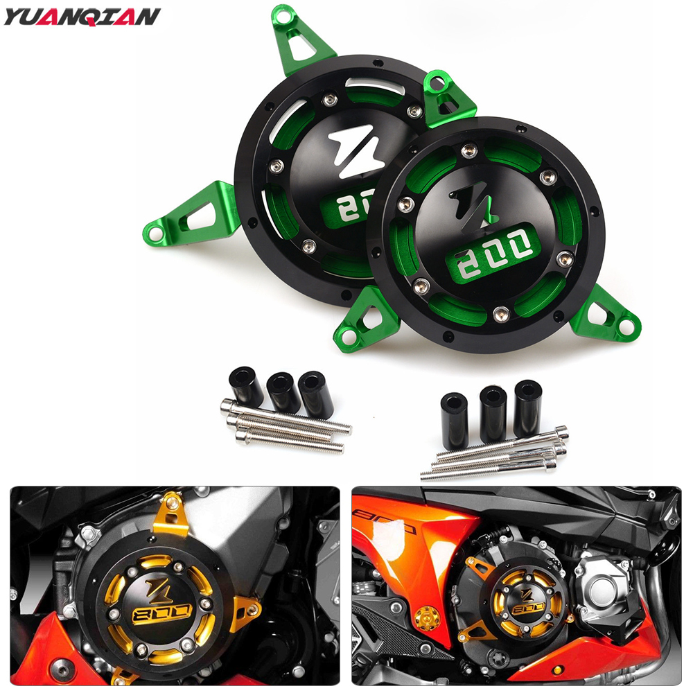 For Kawasaki Z 800 Z800 2013 2014 2015 2016 2017 CNC Motorcycle Accessories Engine Protection Z800 Motorbike Engine Stator Cover