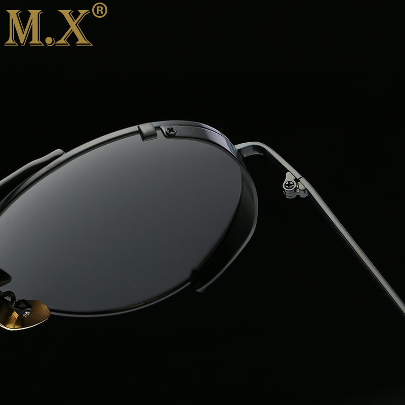 MX Luxury Designer Sunglasses Women 2018 High Quality New Pilot Polarized Sunglasses Womens Driving Glasses Steampunk Style