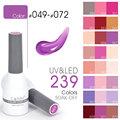 #62507 Professional Nail Aet CANNI 239 Colors 15ml Soak off UV/ LED Color Nails Gel Nails Polish Gel Vernish