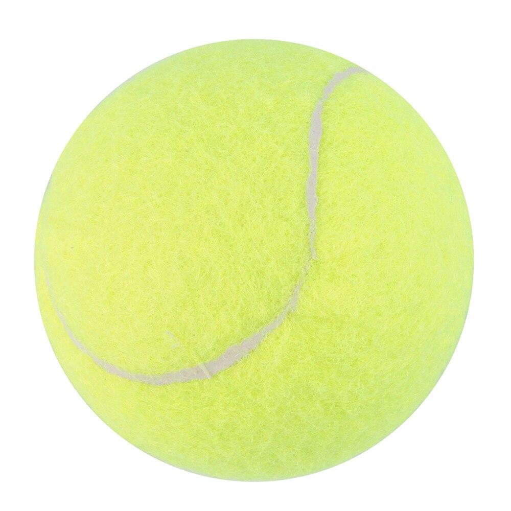 2018 New Yellow Tennis Balls Sports Tournament Outdoor Fun Cricket Beach Dog High Quality Drop Shipping