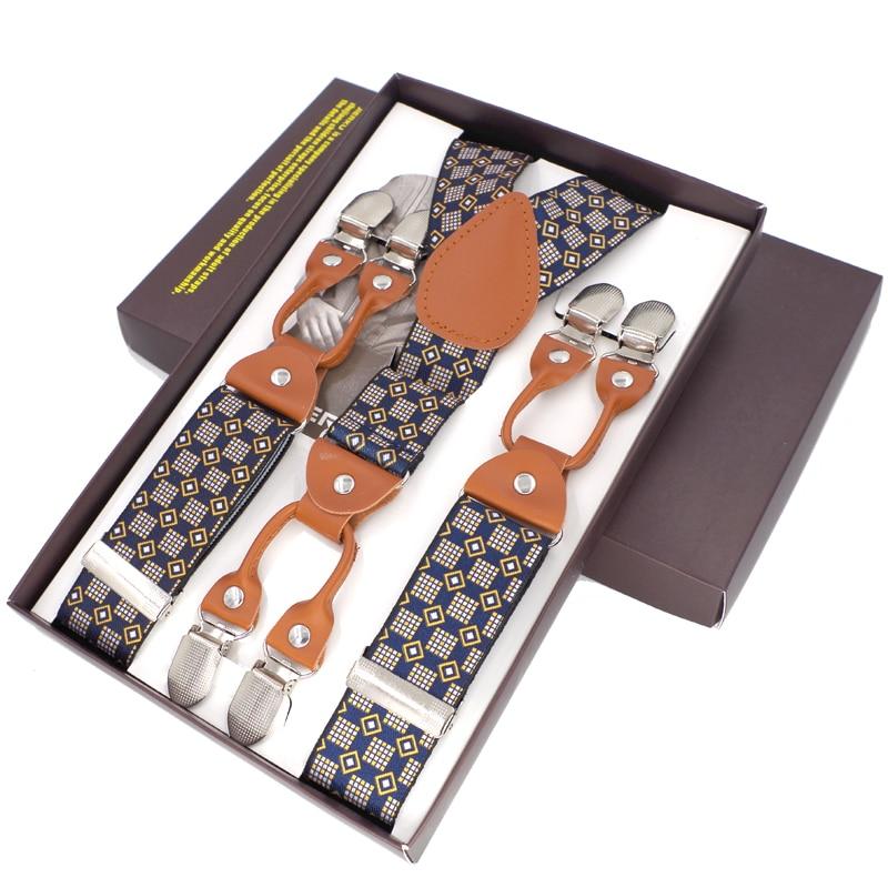 Hosenträger Mode Hosenträger Hosen Suspensorio Menino Boxed Strap - Bekleidungszubehör - Foto 6