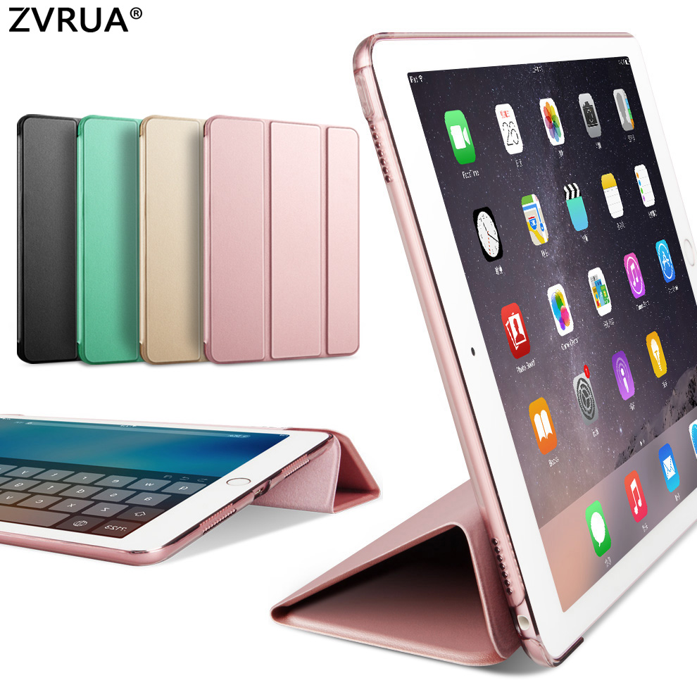 Special offer , Case for iPad Pro 12.9 inch 2015 Release, ZVRUA Ultra Slim PU leather Smart Cover Case Magnet wake up sleep case for ipad pro 12 9 inch esr pu leather tri fold stand smart cover case with translucent back for ipad pro 12 9 2015 release