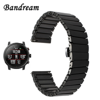 20mm 22mm Ceramic Watchband For Amazfit 1 2 2S Xiaomi Huami Bip Pace Quick Release Watch