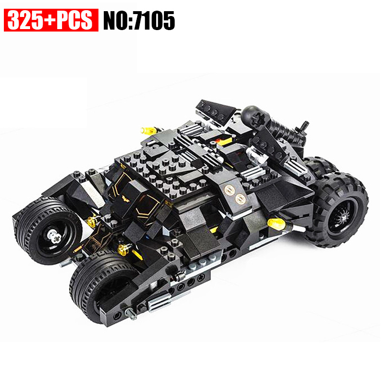 AIBOULLY 2017 New 7105 Batman The Tumbler Batmobile Batwing Joker Super Heroes Build Blocks Marvel Minis Toy brinquedos  DIY building blocks super heroes batman chariot the tumbler batmobile batwing joker mini bricks 34005 07060 lepintoys