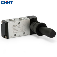 CHINT Handle Valve Manual Valve Pneumatic Switch Two Bit Five Pass Pneumatic Valve Manual Switch цена