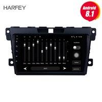 Harfey 2 Din Android 8,1 радио для MAZDA CX 7 2007 2014 Автомобильный мультимедийный плеер 9 gps навигация Bluetooth с SD 1080 P видео