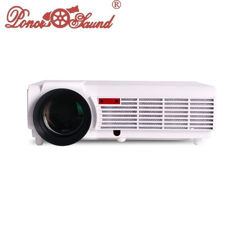 MAX5500lumens Full HD LED 3D Home Cinema Projector 1280x800 1080P LCD Digital Video HDMI Proyector TV Beamer