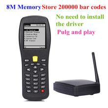 X5 Wireless laser barcode scanner, handheld data terminal PDA,High scaned speed barcode PDA for logicstics and dock/supermarket