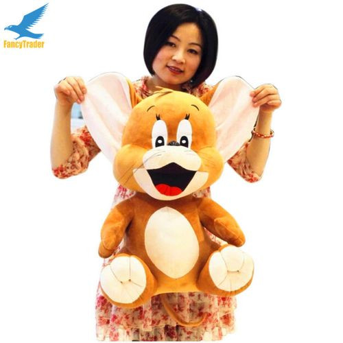 Fancytrader 2 pcs 26\'\' 65cm Big Plush Soft Cute Stuffed Giant Tom and Jerry Toy, Great Gift For Kids FT50217 (4)
