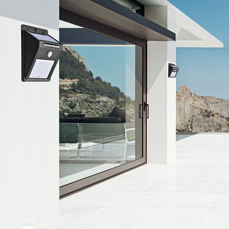 Zacco Cottage Outdoor Solar Lampe Solarleuchten Für Garten Dekoration Led  Wandleuchte Bewegungssensor Panel Haus In Zacco Cottage Outdoor Solar Lampe  ...