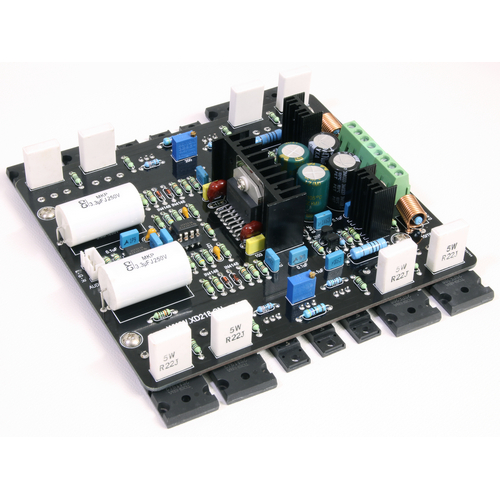 LM4562+LM4702+2SA1943+2SC5200 200W 2.0 Channel Combined Amplifier Board