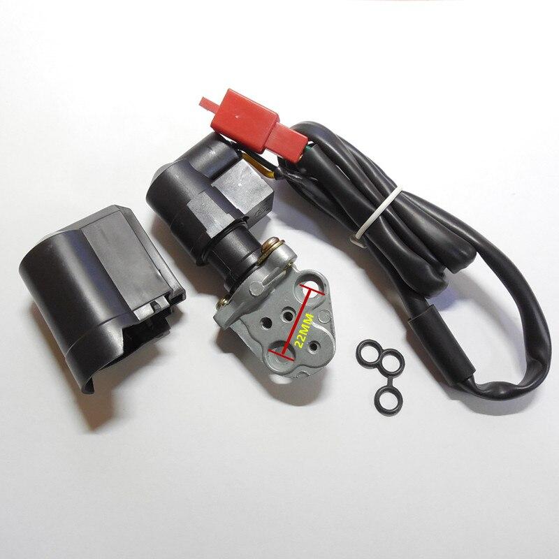 GY6-125 / 150CC Scooter Carb Acelerador electrónico (Tiene una base) Agregue una válvula concentrada Carb Automático Estrangulador eléctrico